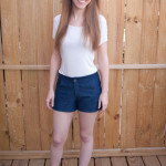 Denim Maritime Shorts