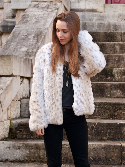 Faux Fur Jacket Free Pattern Lindsay Woodward