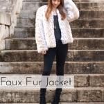 Faux Fur Jacket + Free Pattern!