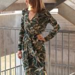 Olivia Wrap Dress