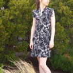 V8903 Silk Shirt Dress