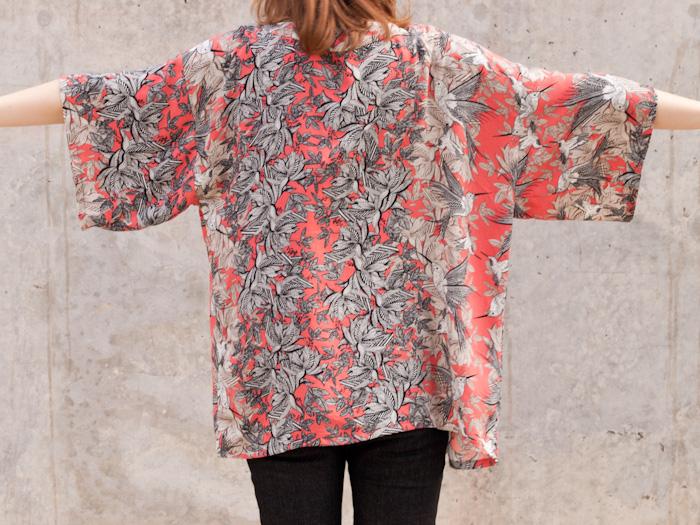 Hummingbird Kimono