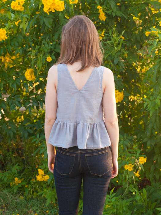 Ruffle Tank - In the Folds