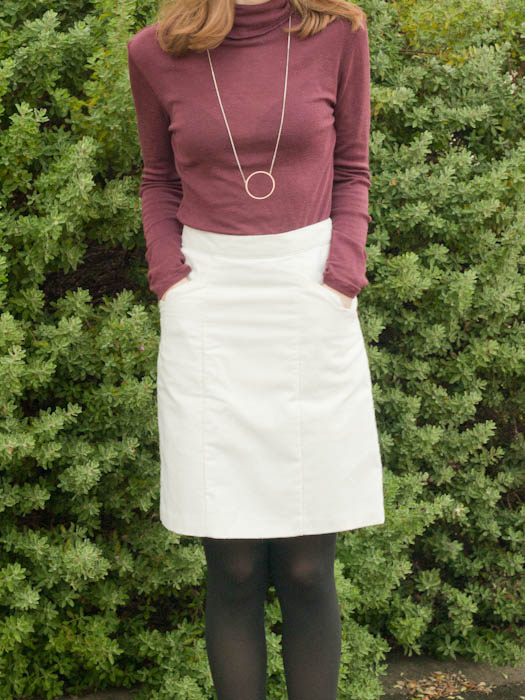 Selene Skirt & Alexi Turtleneck